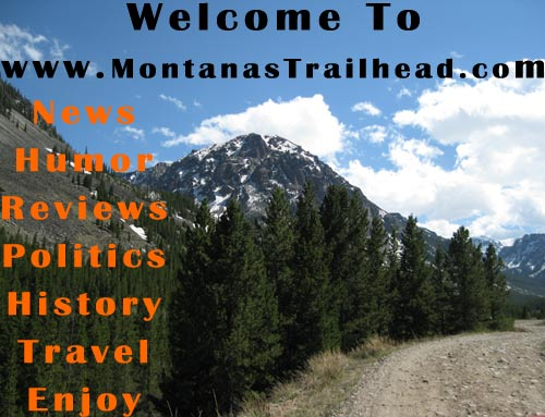 Flyer for Montana's Newest Website,  www.MontanasTrailhead.com