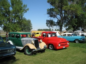 Annual Endless Summer Car Show at the Huntley Project Museum